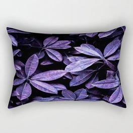 Stillness, Botanical Plants Leaves Rectangular Pillow
