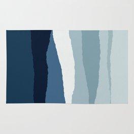 Blue Abstract II Rug