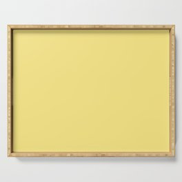 From The Crayon Box – Yellow Solid Color Serving Tray