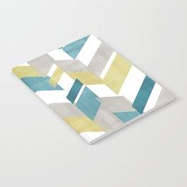 Bright geometrical pattern Notebook