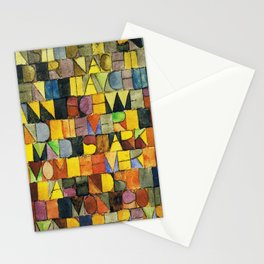 Paul Klee Once Emerged from the Gray of Night Stationery Cards