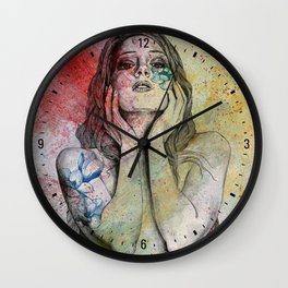 The Withering Spring II Wall Clock