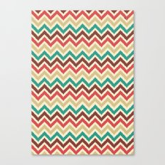 Chevron 1 Canvas Print