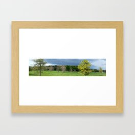 Oncoming Storm Framed Art Print