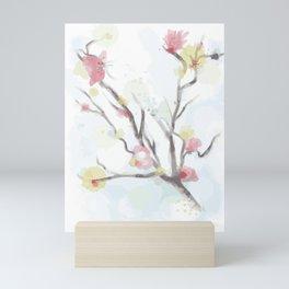 Sakura cherry blossom Mini Art Print