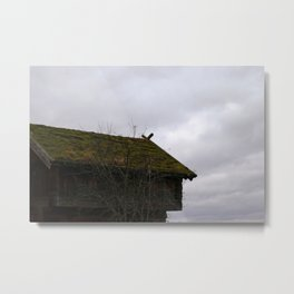 Swedish Dwelling Metal Print