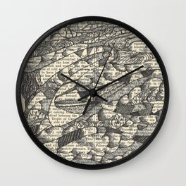 Rolling with the Wind Wall Clock