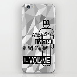 Volume UP iPhone Skin