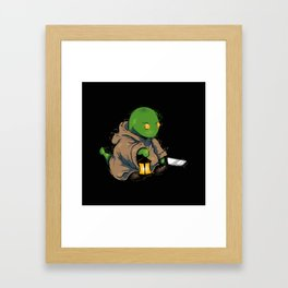 Tonberry2 Framed Art Print