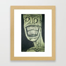 Rotting In The City Of Summer Framed Art Print