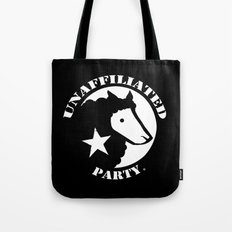 UNAFFILIATED PARTY STENCIL Tote Bag