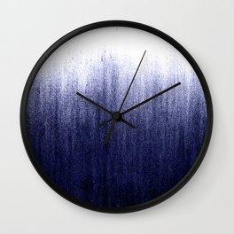 Indigo Ombre Wall Clock