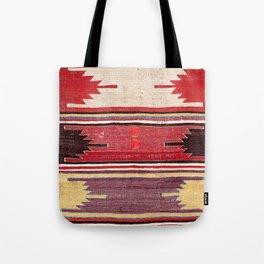 Nevsehir Cappadocian Central Anatolian Kilim Print Tote Bag
