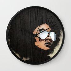 Venus Afro Wall Clock