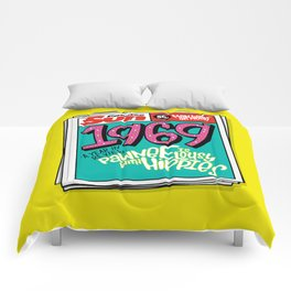 Lousy With Hippies (PAR102) Comforters