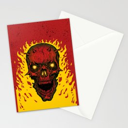 High on Fire Stationery Cards