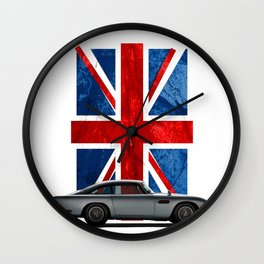 My name is 5, DB5 Wall Clock