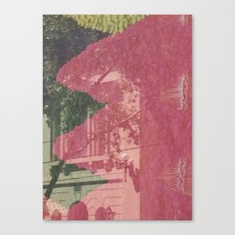 feeling pink on chapel street Canvas Print