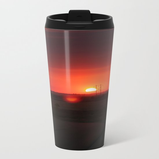 Sunset Highway Metal Travel Mug