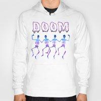 doom Hoodies featuring DOOM by negativecreep