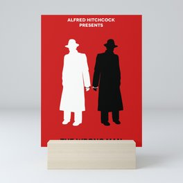 The Wrong Man Mini Art Print