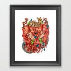 Jessa Framed Art Print