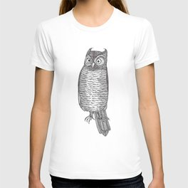 Indignant Screech Owl T-shirt