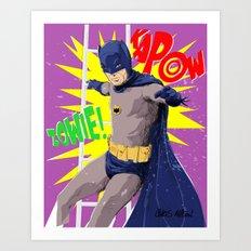 ZOWIE KAPOW! Art Print