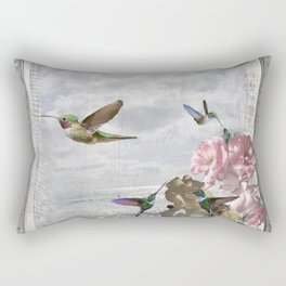 Vintage Artwork Rectangular Pillow