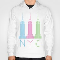 nyc Hoodies featuring NYC by ANIMALS + BLACK