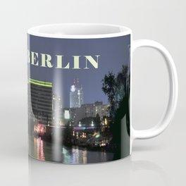 Night at river Spree in BERLIN Coffee Mug