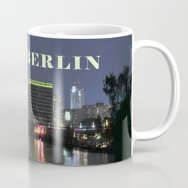 Night at river Spree in BERLIN Coffee Mug