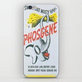 Vintage poster - Phosgene iPhone Skin