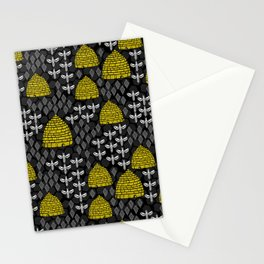 Honey Bees & Hives Stationery Cards