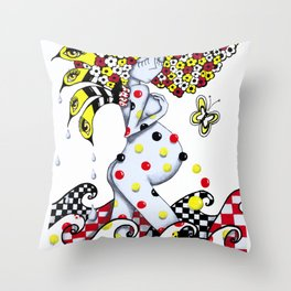 Alumia - Throw Pillow