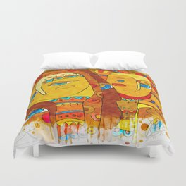 Lure of Cleopatra Duvet Cover