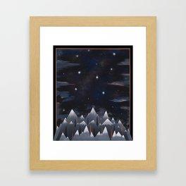 LAUNCH Framed Art Print