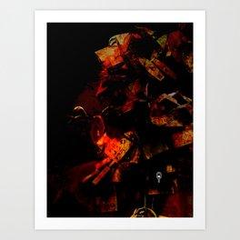 Padlocked Art Print