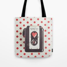 Love Photography Tote Bag