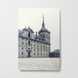 Royal Monastery of El Escorial  Metal Print