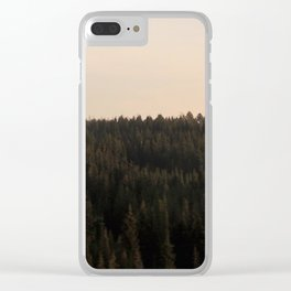 Grand Teton National Forest Clear iPhone Case