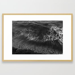 I sea you in black/white II Framed Art Print