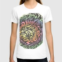 aztec T-shirts featuring Aztec  by Kate Allison