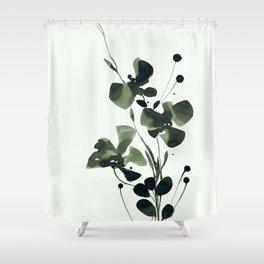 Organic Impressions 334u by Kathy Morton Stanion Shower Curtain