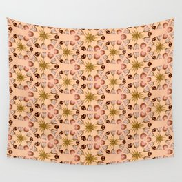 Tulip Pinwheels Photographic Pattern #1 Wall Tapestry