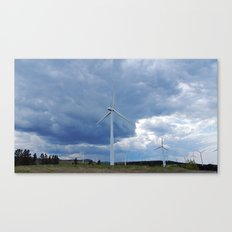 Windmill Park in Cap-Chat Canvas Print