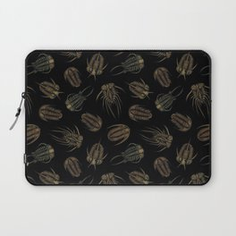 Trilobites - Marine Fossil Pattern Laptop Sleeve