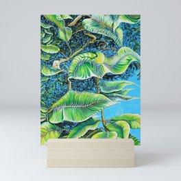 Julie's Jungle Mini Art Print