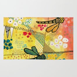 Flight of the Dragonfly Rug