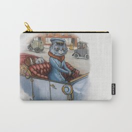 Louis Wain - The Cat Chauffeur Carry-All Pouch